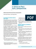 Investigacion Clinica en Peru