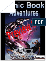 Comic Book Adventures Preview 1