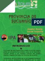 Provincia de Sucumbíos.ppt