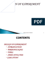Design of Experiments.