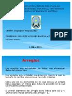 ARREGLOS BIDIMENSIONALES