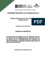 Trabajo Psicologos(as) Huancavelica2015