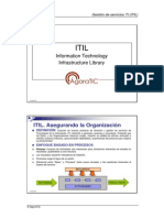 ITIL. Information Technology Infrastructure Library