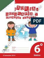 Cuaderno de trabajo 6 Basico Historia