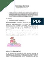 PROTOCOLO DE TRATAMIENTO HIPOTONIA NO PARALITICA