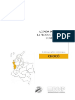 Agenda Interna Chocó