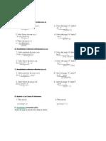 Anualidades formulas