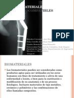 Biocompatibilidad de materiales metálicos