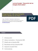 Regulación de Las Energías Renovables
