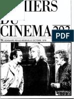 293 - Cahiers du Cinéma