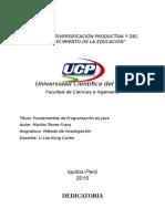 Universidad Científica Del Perú