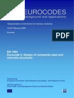 En 1994 Workshop Eurocodes Background and Applications