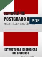 Estructuras Ideológicas Del Discurso (a. Van Dijk). (1)