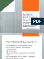 Clase 7-1 Quimica Inorganica Cualitativa