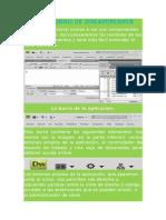 El Entorno de Dreamweaver Tania Mallqui Ponce 4to