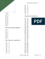 Divisores y Numeros Primos