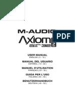 Axiom AIR Mini 32 - User Guide - V1.2