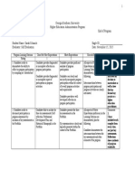 portfolio self assessment rubric