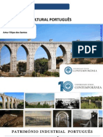 Património Cultural - Patrimonio Industrial Português -Aqueduto Das Águas Livres - Artur Filipe Dos Santos - Universidade Sénior Contemporânea