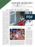 L´OSSERVATORE ROMANO - 13 Noviembre 2015