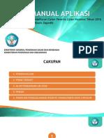 Manual Aplikasi Pendaftaran Calon Peserta UN 2016