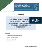 Practica de Campo - Mod v - Meteorologia