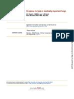 Fungal Virulence Factors
