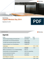Tecan Capital Markets Day 2014 Presentation