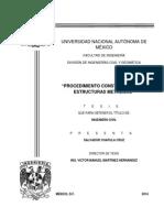 Tesis Procedimiento Constructivo Con Estructuras Metálicas