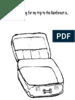 suitcase worksheet