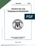 articulos en Derecho Agrario