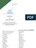 Protocolo Nutricional en el Trasplante Renal