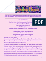 Divine Incarnate Newsletter