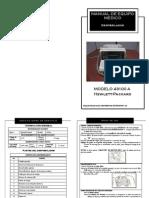 Manual Desfibrilador Hp 43100a Elaborado BIOMEDICAL INGENIOUS