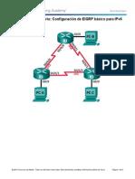 7.4.3.5 Lab - Configuring Basic EIGRP for IPv6