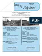 Palm Sunday 2010 Bulletin