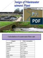 Waste Water Plant Design