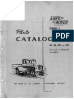 Land Rover Series I 1954-1958 Parts Catalogue COMPLETE