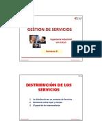 Distribucion de Los Servicios