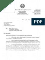 Bruce Aristeo's Property Seized by Camden County Prosecutor's Office