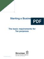 Starting Business in Ireland - Revenue Details