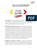 Plan de Trabajo - Voces Sociales