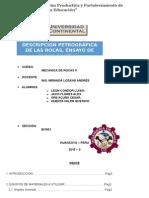 DENSIDAD DE MUESTRA MECANICA DE ROCAS II.docx