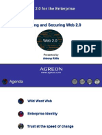 Session 3 Enabling and Securing WEB 2 0 Applications by Antony Krilis - Agreon