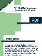 GENOMA HUMANO-terapia Genica