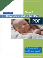 Clase 2 - Desarrollo Evolutivo Del Niño
