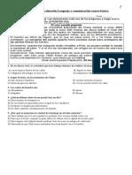 Subir Evaluación Lenguaje y Comunicación Cuarto Básico Subir