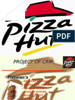 Pizza Hut Project of Crm