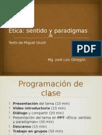 Sesión 2 - Etica y Paradigmas