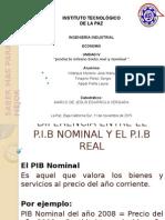 Economia- Pib Real y Nominal